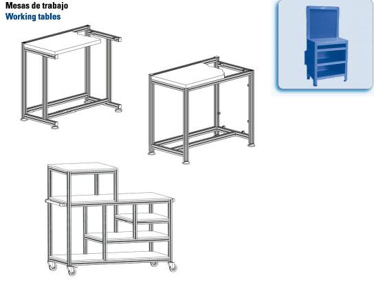 Fasten - Mesas de trabajo - Working tables
