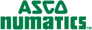 Logo - Asco Numatics - 65 mm x 21 mm