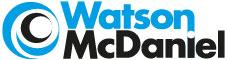 Logo - Watson McDaniel - 80 mm x 21 mm