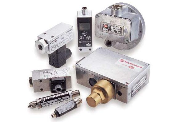 Norgren - Presostatos, Switchs de Presión y Convertidores Proporcionales
